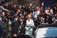 Diana en de pers
